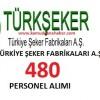 Türkiye Şeker Fabrikaları İşçi Alım İlanı.