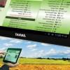 Dünyada bir ilk , Çiftçiye tablet dağıtılacak.