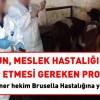 Memurun meslek hastalığına yakalanması halinde takip edilmesi gereken prosedür