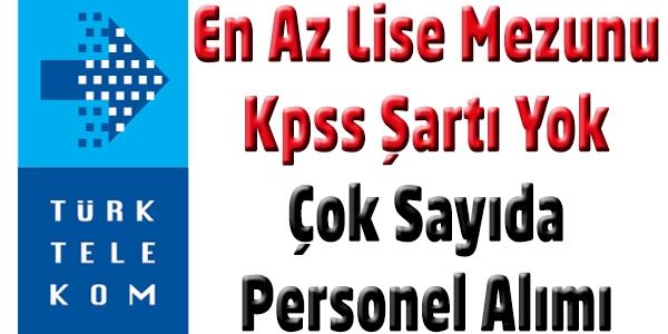 Türk Telekom 2015 Personel Alımı Başvurusu.