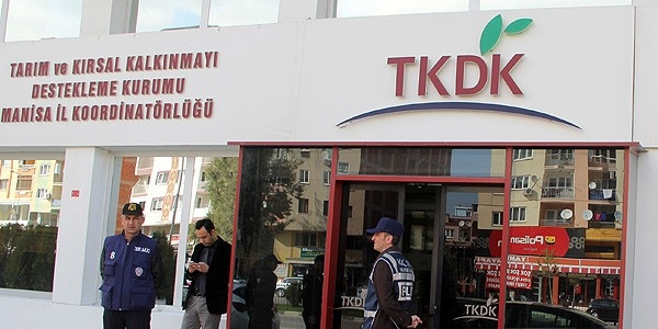 Manisa'da TKDK'da polis araması