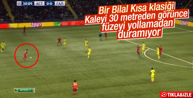 Bilal Kısa'dan Astana'ya jeneriklik gol – İZLE