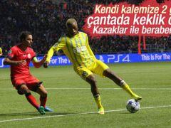 Galatasaray Kazakistan'da 2 puan bıraktı
