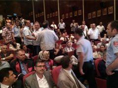 Erciyes Üniversitesi  Protestolu Mezuniyet Töreni