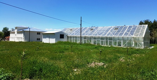 Erzurum'da Çiftçi Eğitim Merkezi hizmete girdi