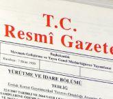 Tarım Bakanlığına Ait Atama Kararları Resmi Gazete'de Yayımlandı