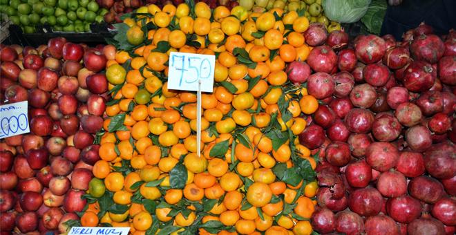 Tarım-ÜFE Kasım ayında yüzde 1,85 azaldı