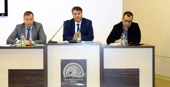 İncirliova'da çiftçi bilgilendirme toplantısı yapıldı