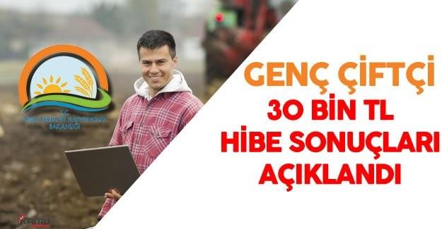 İl İl Tüm Türkiye'nin Genç Çiftçi Sonuçları Yayınlandı!