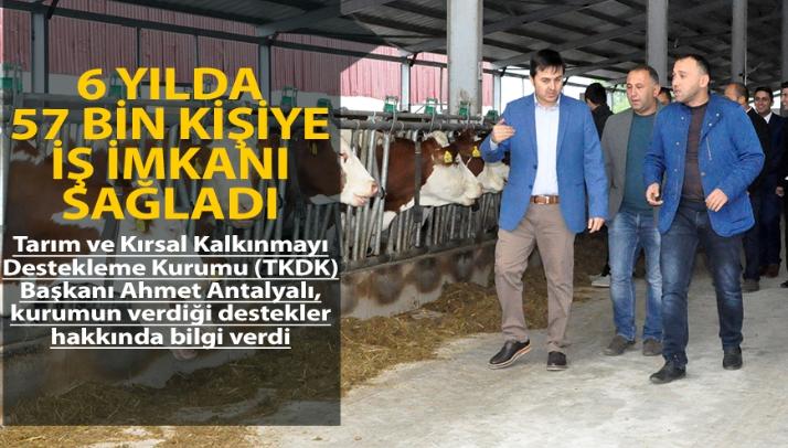 TKDK hayallere destek olmaya devam ediyor