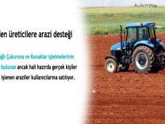 TİGEM'in toplam arazisi 3,6 milyon dekar