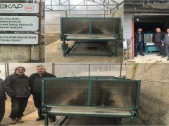 Giresun'da Solucan Gübresi Üretiminin Yaygınlaştırılması Projesi Tamamlandı