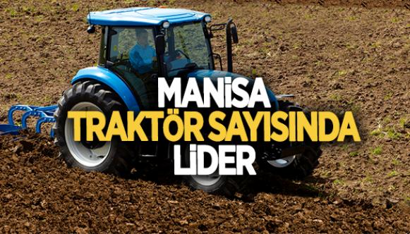 Traktör sayısında lider il açıklandı