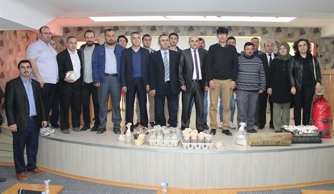 Düzce'de Mantar Yetiştiriciliği Eğitimi Düzenlendi