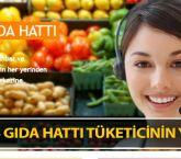 Alo 174 Gıda Hattı tüketicinin yanında