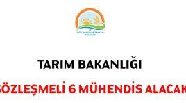 Gıda, Tarım Ve Hayvancılık Bakanlığı 6 Sözleşmeli Personel Alacak