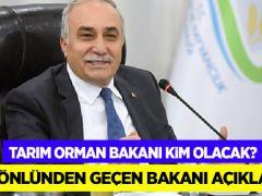 Fakıbaba gönlünden geçen Tarım Orman Bakanını açıkladı