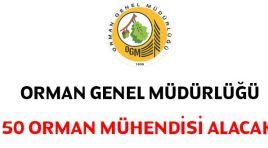 Orman Genel Müdürlüğü Orman mühendisi alacak