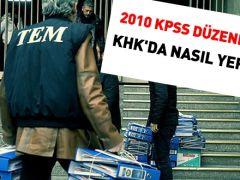 2010 KPSS düzenlemesi, KHK'da nasıl yer aldı?