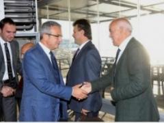 FRANSA TARIM BAKANLIĞI, ORDU VALİSİ VE HEYETİNİ AĞIRLADI