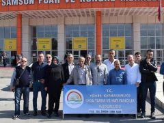Yomra'dan Samsun Tarım Fuarına Ziyaret