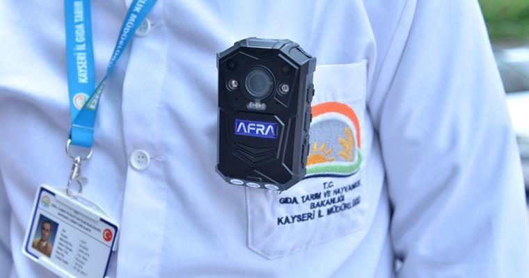 Gıda Denetimlerinde Yaka Kamerası Uygulaması Başlatıldı.