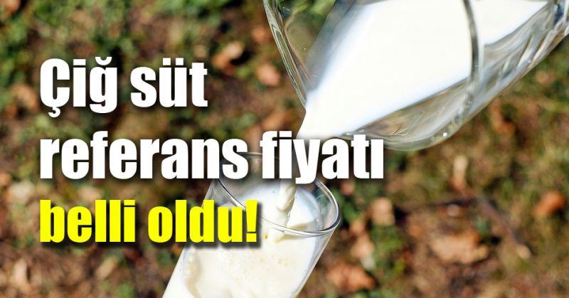 Ulusal Süt Konseyi Çiğ Süt Referans Fiyatını Açıkladı!