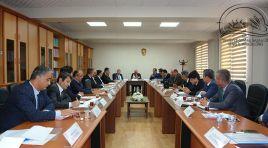 Sivas İl Tarım ve Orman Müdürlüğü 'koordinasyon' için toplandı