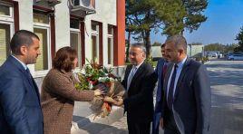 Kayseri Tarım ve Orman İl Müdürü olarak atanan Mustafa Şahin görevine başladı.