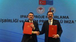 TOBB ve Tarım Bakanlığı işbirliği Protokolü imzalandı
