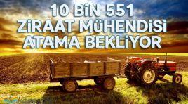 10 Bin 551 Ziraat Mühendisi Atama Bekliyor!