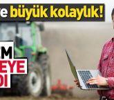 e-Çiftçi portalı uygulamaya girdi