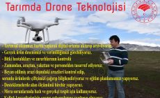 Tarımda drone teknolojisi