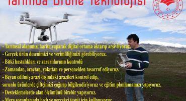 Tarımda Drone Teknolojisi Haritalandırma