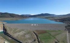 Gümüşhane'de 116 bin 980 dekar arazi su ile buluştu
