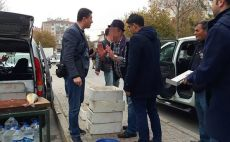 Denetim görevlilerine bıçak çeken Kişi gözaltına alındı