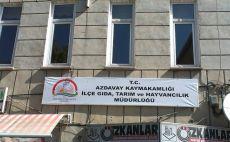 İlçe Tarım ve Orman Müdürlüğü personeli karantinaya alındı