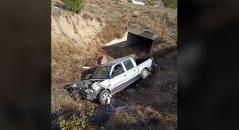 Çankırı Eldivan İlçe Tarım ve Orman Müdürlüğü Personeli kaza Yaptı.